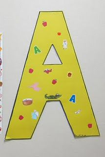 A activities - links to other letter activities also