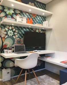 Small Home Offices, Home Office Space, Home Office Design, Home Office Furniture, Home Office Decor, Home Decor, Office Ideas, Office Designs, Small Office