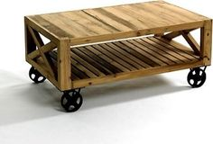 sweet industrial coffee table