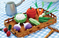 Quilled Vegetables