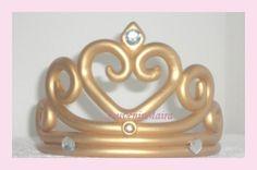 Corona Princesa Porcelana Fría , Adorno Torta, precio: $170, categoría: Adornos para Tortas, Nuevo, Corona de porcelana fría!   Adorno para la torta  Corona de princesa plateada, dorada, blanca o del, cod: d9q9X.