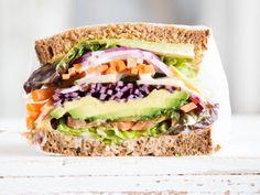 Veggie-Avocado-Sandwich
