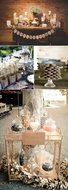 Candy Bar: una preciosa idea para endulzar tu boda