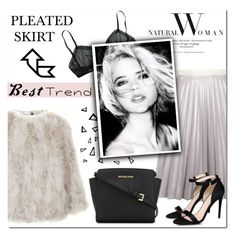 """""""Best Trend of 2016: PLEATED SKIRT!"""" by emma-avigdor ❤ liked on Polyvore featuring Antipodium, Topshop, Nika, STELLA McCARTNEY, MICHAEL Michael Kors, autumn, women, polyvorefashion and besttrend2016"""