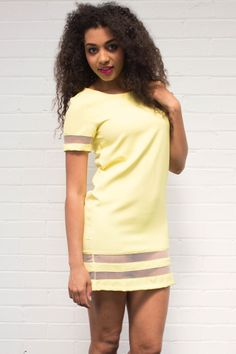 Our Libre Mesh Panel Shift Dress is perfect for brightening up your summer wardrobe and available for only £24! Get yours now by visitng our website -  www.girlinmind.com/new/libre