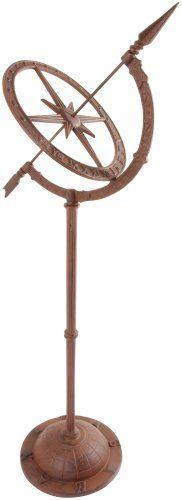 Cast Iron Sundial on Stand 92cm High: Amazon.co.uk: Garden & Outdoors