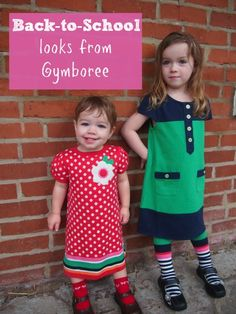 Top picks for back-to-school fashion from Gymboree AND a $75 gift certificate giveaway!