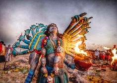 God in earth,say your queries.Devotees transform themselves into gods and goddesses during Dussehra celebrations in the coastal town of kulasai,in tamilnadu