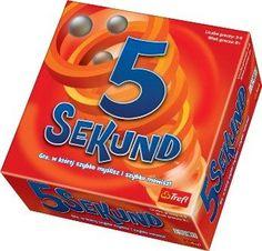 """Szukacie pomysłu na imprezę? Co powiedzie na grę, w której trzeba szybko kojarzyć i równie szybko odpowiadać? Dobra zabawa w """"5 sekund"""" gwarantowana!"""