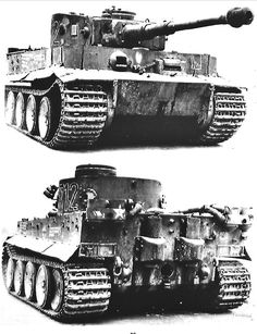 The Panzerkampfwagen VI Tiger was probably the most famous German tank of the war. A reputation that well exceeded its actual numbers.