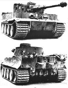 Panzerkampfwagen VI Tiger PN: 712