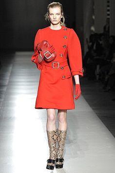 Prada dress, or maybe coat? OMG.