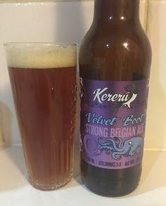 Velvet Boot - Kereru Brewing Company Belgian Strong Golden Ale