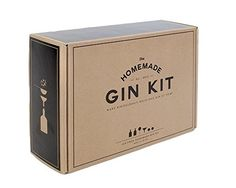 Interested in learning how to make your own gin, but worried it involves some shady bathtub distilling process? Not With the Homemade Gin Kit! This DIY liquor kit comes with almost everything you need to make your own gin right at home. Homemade Gifts For Men, Diy Gifts For Men, Homemade Things, Man Gifts, Beer Brewing, Home Brewing, Christmas Gift Guide, Holiday Gifts, Thanksgiving Gifts