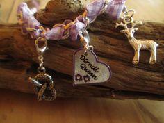 Trachten-+Armband+Dirndl-Queen+lila+von+Schmuckstück+auf+DaWanda.com