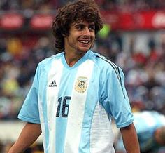 Pablo Aimar Argentina Football Team, Argentina National Team, Diego Armando, Vintage Football Shirts, Good Soccer Players, Everton Fc, Valencia, Rain Jacket, Windbreaker