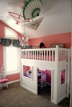 loft bed playhouse by melba