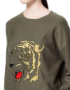Tiger sweater ZARA