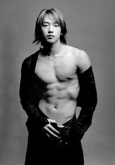 Bi Rain sexy K-pop singer