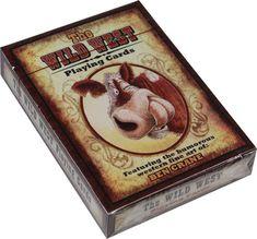 Wild West Playing Cards Humor Western Ben Crane Cowboy New Deck  #RiversEdge
