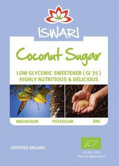 #ZuccheroDiCocco è un'alternativa salutare, a basso indice glicemico (gi35) dello zucchero. Ricco in vitamine e minerali, tra cui potassio, zinco e ferro come pure la vitamina B.
