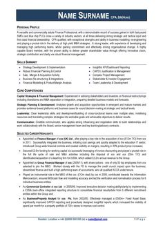 Financial manager resume examples pinterest resume examples professional cv download examples maxwellsz