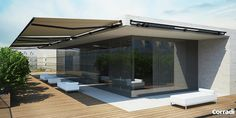 K02 Corradi Skia karos árnyékoló   Exkluzív Pergola és Terasz Árnyékolás - B&B Architektus