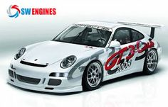 #SWEngines White racing Cars