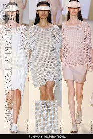DiaryofaCreativeFanatic: Needlecrafts - Knit, Crochet - Open Mesh Stitches