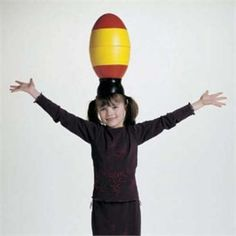 Use the Balancing Egg from American Educational Products for a fun game of balance. $49.95 and Free Shipping! http://www.sensoryedge.com/cldi.html