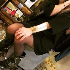 It's a Christmas party! Shine with your metallic Tatts this winter holiday for some vavavoom!  Thank you @label_queen for wearing our #Dailyglaze so well!  #christmasparty #gold #night #festive #season #holiday #2015 #2016 #fashion #store #cuff #line #metallic #tattoos #silver #bronze #shine #jewellery #beirut #lebanon