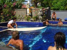 Chilling out at Wahyu Guest House, Nusa Lembongan, Bali