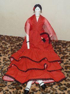 Boneca de pano, Tilda espanhola.