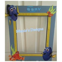 Finding Dory Photo Booth Prop, Finding Dory birthday,  finding nemo, finding dory invites, finding dory balloons,  finding dory centerpieces by AlondrasDesigns on Etsy https://www.etsy.com/listing/400362275/finding-dory-photo-booth-prop-finding