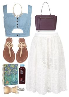 """Girly Girl"" by prettyorchid22 ❤ liked on Polyvore featuring SuperTrash, Chicnova Fashion, Rebecca Minkoff, Tory Burch, Jean-Paul Gaultier and Panacea"