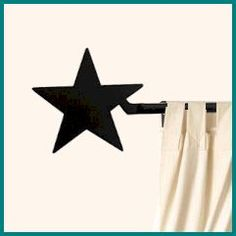 star curtain rod