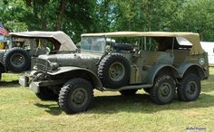 Dodge Weapons Carrier, Power Wagon, etc. Old Dodge Trucks, Old Pickup Trucks, Dodge Cummins, Army Vehicles, Armored Vehicles, Armoured Personnel Carrier, Dodge Power Wagon, Abandoned Cars, Jeep Truck