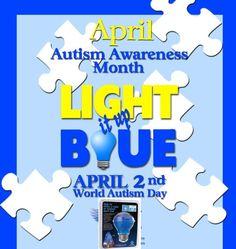 Autism awareness month autism awareness and autism on pinterest