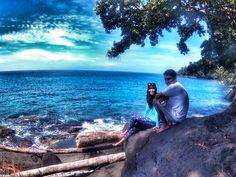 Sawar beach, Doromena village, Depapre-Jayapura; Papua