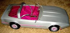 The Barbie Silver 'Vette. 1984 I asked Santa to bring my brother a car.  This is what he brought.