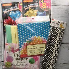持ち手が紙ストローのキャンディブーケの作り方 | あれやこれや Alcohol Gift Baskets, Alcohol Gifts, Candy Bouquet, Paper Straws, Birthday Diy, Diy Party, Diy And Crafts, Presents, Gift Wrapping