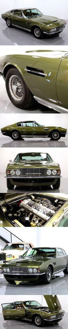 Cool Aston Martin 2017 - 1970 Aston Martin DBS Vantage / 325hp 4.0l L6 / William Towns / UK / green / Wil... #astonmartinvintagecars