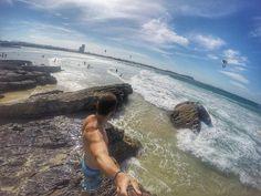 Wanderlust! Missing those days in Australia. Currumbim beach Gold Coast Australia  #tb #currumbin #currumbinbeach #goldcoast #qld #australia #ozzytrip2 #photooftheday by davidaraujos http://ift.tt/1X9mXhV