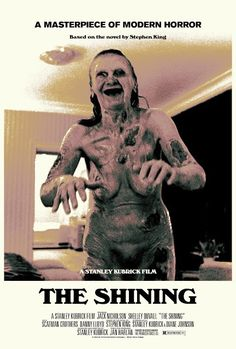 the horror... - (the shining)(movie poster)