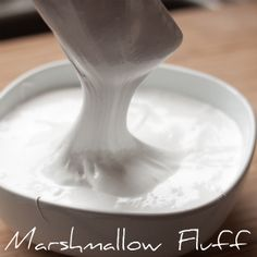 Marshmallow Fluff from your own kitchen!