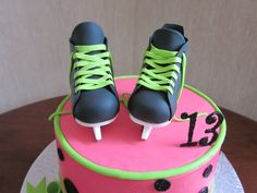 Girly Hockey Cake