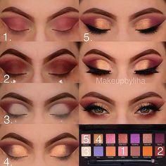 Super makeup tutorial eyeshadow maquillaje Ideas Super Make-up Tutorial Lidschatten Make-up Ideen Eye Makeup Steps, Simple Eye Makeup, Smokey Eye Makeup, Eyeshadow Makeup, Eyeliner, Drugstore Makeup, Eyeshadow Ideas, Natural Makeup, Soft Makeup