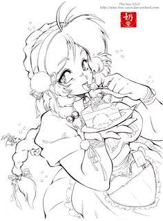 Cake queen by ~nai-XaIn on deviantART