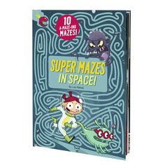 Super Mazes in Space! Kids Activity Books, Puzzle Games For Kids, Activities For Kids, Space Story, Maze Puzzles, The Great Escape, Up Book, Free Books Online, Book Format