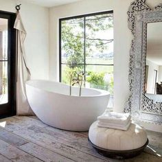 A long Monday morning soak right here... yes please! Drop in and see us at The Bungalow this week 9am-4pm. 71 West Burleigh Rd Burleigh Heads. Image via @house.interior.design